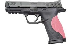 My Wedding Anniversary Gun: Smith & Wesson M Julie Goloski w/Pink Grips I LOVE Julie Goloski & this gun is the Breast Cancer Addition! This gun couldn't have been made any better. Let's just say April 2012 can't come soon enough! M&p 9mm, 9mm Pistol, Handgun, Smith Wesson, Way Of Life, The Life, Pink Guns, 40 S&w, M&p Shield
