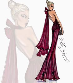 #Hayden Williams Fashion Illustrations  #'Fine Wine' by Hayden Williams