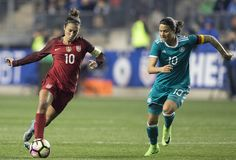 GALLERY: WNT Defeats Germany 1-0 in Opening Match of 2017 SheBelieves Cup - U.S. Soccer