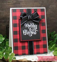 Christmas Cards   Card Making   Stamping   Scrapbooking   Creative Scrapbooker Magazine #christmas #cards #scrapbooking