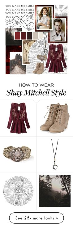 """you seem quite shy, but you're oh so cute - round O3 - tfs"" by reya-selene on Polyvore featuring mizuki, Chicnova Fashion, Mon Cheri, vintage and boysandbracelets"