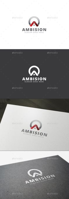 Clean, simple and modern logo template for letter ¡°A¡±. Very easy to use. Main files are vector and everything 100 editable and sc