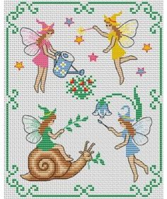 L'escargot et ses amies