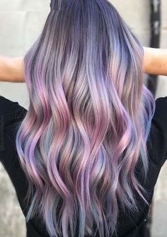 Visit this page to see the best ever hair color shades for long hair cuts. Visit this page to see the best ever hair color shades . Bold Hair Color, Hair Color Shades, Ombre Hair Color, Hair Color Balayage, Purple Hair, Pastel Ombre Hair, Pastel Hair Colors, Haircolor, Red Violet Hair