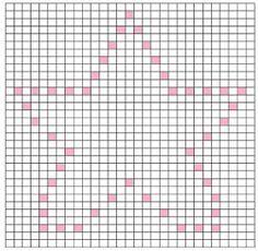 Bobble stitchmotieven/patronen