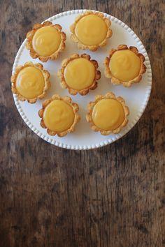 Lavender and Lemon Tarts (gluten, dairy and sugar free)