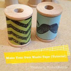 make washi tape