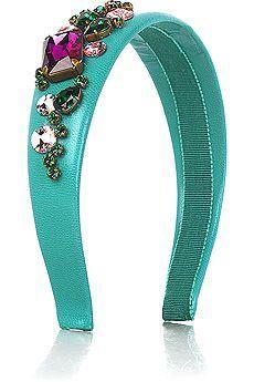 Miu Miu Jewel Embellished Headband