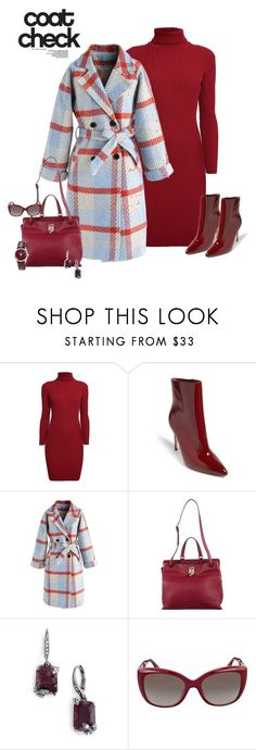 """""""Go Bold: Statement Coat"""" by alina-n ❤ liked on Polyvore featuring Rumour London, Forever 21, Chicwish, Valentino, Jenny Packham, Fendi, Tissot and statementcoats"""