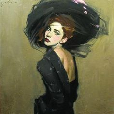 Artistic Accessories ▴ clothes, jewelry, hats in art - Malcolm Liepke Painting People, Artist Painting, Figure Painting, Malcolm Liepke, History Of Illustration, Venus Tattoo, Oil Portrait, Contemporary Paintings, Woman Face