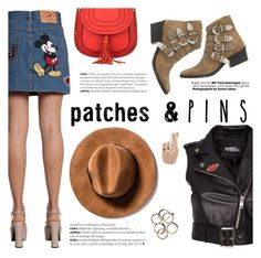 """""""Patches & pins"""" by italist ❤ liked on Polyvore featuring Jeremy Scott, Toga, Georgia Perry and patchesandpins"""