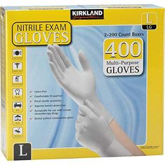 10 - Choose from 1 to 1000 Pairs Individually Packed Blue Dot Medium Powder-Free Latex Gloves