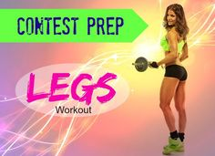 I am very exited to share with you guys the new legs workout I came up with for my bikini contest prep with my new IFBB Figure Pro trainer!!!  I didn't want just a regular gym trainer that can't push me, but I was very pleased to find an IFBB Pro trainer in Montreal where I live, she is IFBB Figure Pro, personal trainer, fitness model and nutrition consultant. She is training a whole team of amazing girls for provincial and national contests.