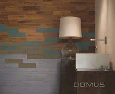 Wood tiles. Domus u-color