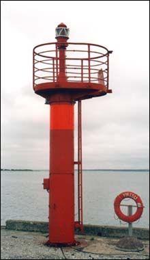 Virtsu harbour light beacon, Estonia