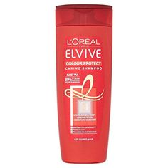 LOral Paris Elvive Caring Colour Protect Coloured or Highlighted Hair Shampoo 400ml * Check this awesome product by going to the link at the image.(This is an Amazon affiliate link and I receive a commission for the sales)