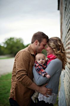 Family Pictures...these are great and perfect for when the baby is young.