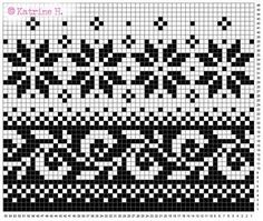 Fair Isle knitting patterns – Easy to do Fair Isle knitting patterns telemarklua pattern by lykkehua Fair Isle Knitting Patterns, Fair Isle Pattern, Knitting Charts, Free Knitting, Sock Knitting, Vintage Knitting, Learn How To Knit, How To Start Knitting, Fair Isle Chart