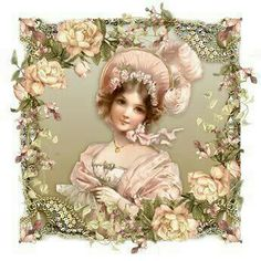 Vintage lady - Like this! ****@@@@@........http://www.pinterest.com/fontsecagalcera/lugares-para-visitar/   &&&&&&&