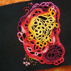WIP Crochet painting | Flickr - Photo Sharing!