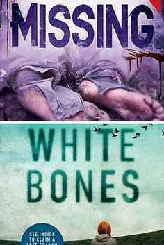 Reviews of crime thrillers Missing by Melanie Casey (Book 3 in the highly recommended Cass Lehman Series) and White Bones by Graham Masterton (Book 1 in the Katie McGuire Series).