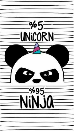 Cute Iphone Home Screen Panda Unicorn Wallpaper Unicornios Wallpaper, Tumblr Wallpaper, Wallpaper Backgrounds, Seagrass Wallpaper, Paintable Wallpaper, Colorful Wallpaper, Panda Wallpaper Iphone, Ninja Wallpaper, Unicorn Backgrounds