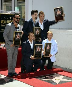 Develan Backstreet Boys su estrella en Hollywood