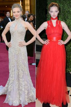 Two Dresses One Night Oscars Edition