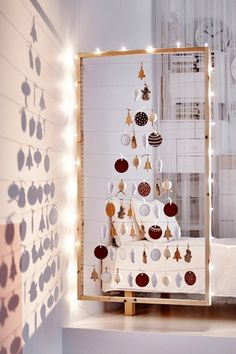 Tree Frame - How To Hack The Holidays With IKEA - Photos