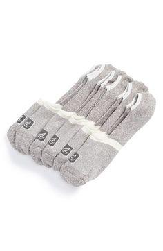 Men's Sperry Cotton Blend No-Show Liner Socks - White (3-Pack)