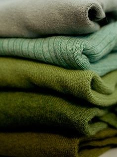 Green Sweaters Jumpers