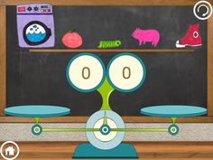 Heavy or Light - Weighing Game (best free educational Android apps for kids)