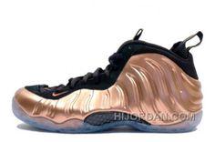 "b0f30ed04df Nike Air Foamposite One ""Dirty Copper"" Black Metallic Copper For Sale Tjf2m"