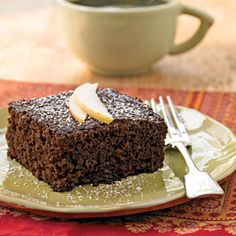 Ginger Cake Recipe (From Cooking Light)