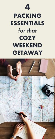 4 Packing Essentials for that Cozy Weekend Getaway