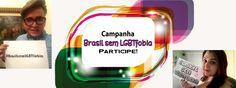 "Campanha ""Brasil sem LGBTfobia"". #BrasilsemLGBTfobia #RadioPowerStrike"