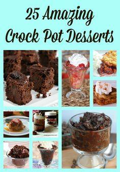 Crock Pot Desserts 25 Amazing Recipes - Just 2 Sisters