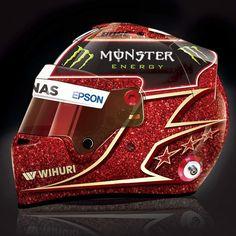 Cherry Red? My entry for Lewis Hamilton's 2017 Helmet design #LH44Design @lewishamilton @mercedesamgf1 @bellhelmetseurope #f1 #mercedes #mercedesbenz #amg #starsandcars #monaco #monster #wihuri #cherryred @roscoelovescoco #instaglove #autosport #losangeles #sydney #london #cooldesign #love #instagood #photooftheday #art #TeamLH
