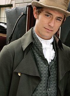 "J.J. Feild plays Mr. Tilney in Austen's ""Northanger Abbey"" ITV television film 2007"