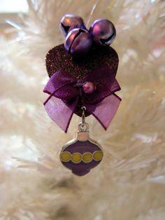 Guitar Pick purple Ornament   OOAK by TwistedPicks on Etsy #handmade #tbec #florida #ornament #accessories #décor