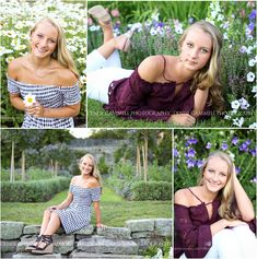 Garden high school senior pictures in CT Denise Gammell Photography