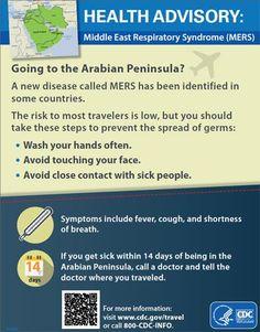 MERS Health Advisory