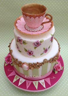 CUUUTE idea for a Ladies' Tea or Women's Ministry Event.