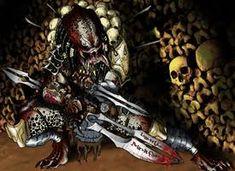 Predator Face by Vandadocomics by Ronniesolano on DeviantArt Wolf Predator, Predator Art, Predator Hunting, Predator Movie, Alien Vs Predator, Types Of Species, Alien Races, Cool Artwork, Deviantart