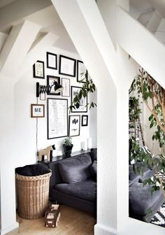 Gallery Wall Im Dachgeschoss über Dem Sofa Bei Community Mitglied Svenjafb!  #gallery#