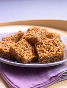 #BiggestLoser #Recipe Crispy Peanut Butter Squares