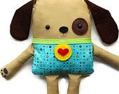 Dog Sewing Pattern - Toy Dog Softie Doll - PDF Sewing Pattern