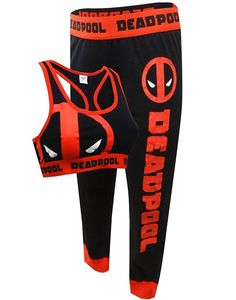 Deadpool Bra & Leggings Set