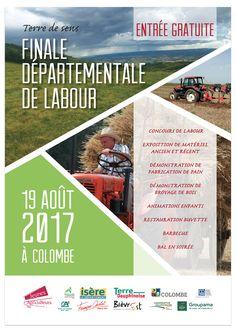 """Affiche - """"Final départementale de labour"""""""