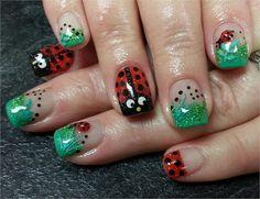 Day 77: Ladybug Nail Art - - NAILS Magazine